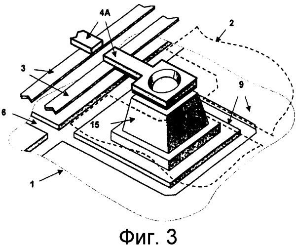 Тепловой детектор с повышенной изоляцией