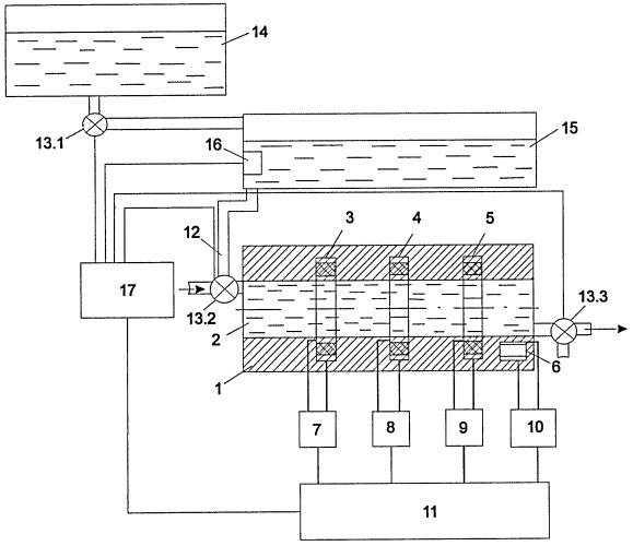 Устройство для измерения концентрации механических примесей в средах