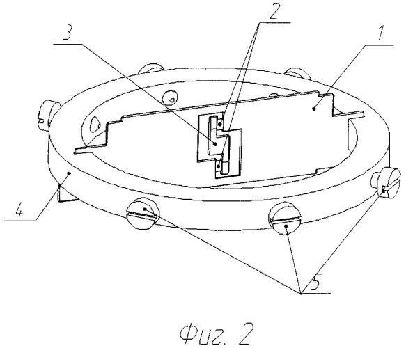 Чувствительный элемент углового акселерометра