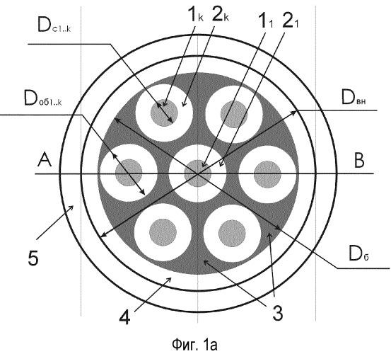 Многосердцевинный волоконный световод (варианты)