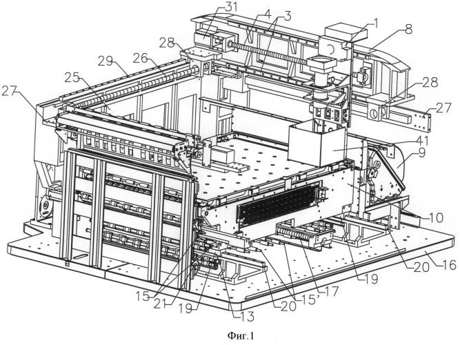 Цифровое светочувствительное оборудование для верстки стереоскопических проекционных изображений и способ его использования