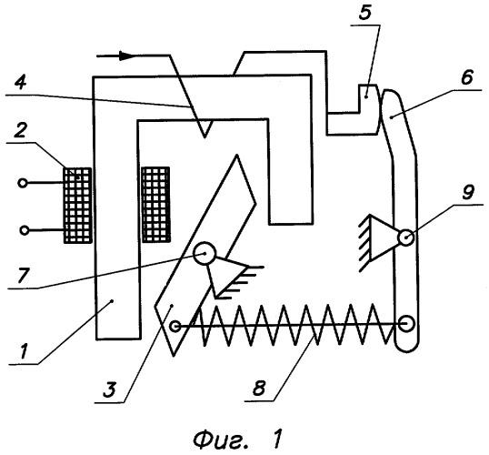 Электромагнитный датчик тока
