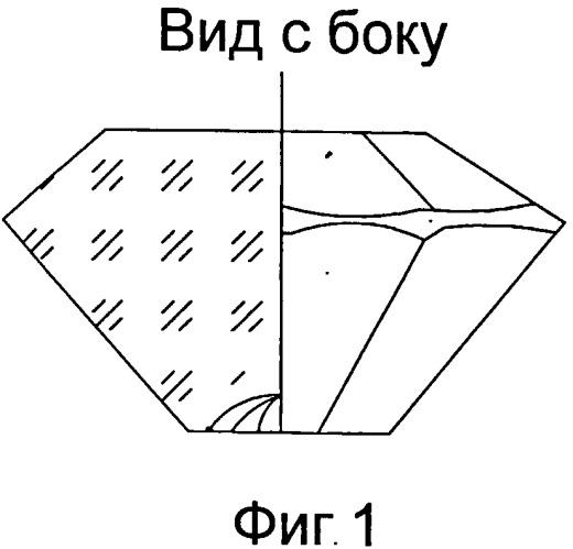 Способ огранки бриллиантов с калеттой