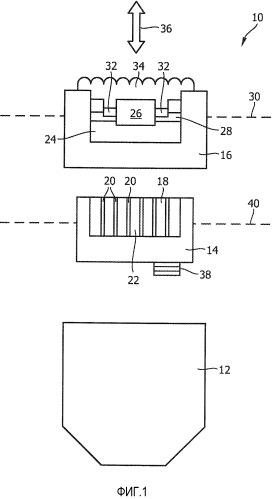 Эпилятор, имеющий приводимый массажирующий элемент