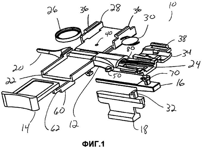 Система введения внутриглазного хрусталика (варианты)