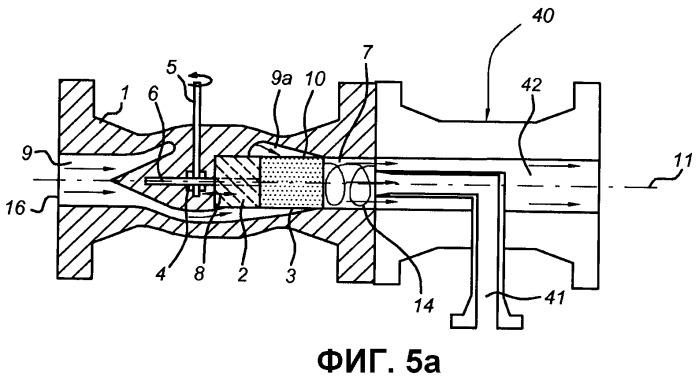 Разделительная система, содержащая вихревой клапан