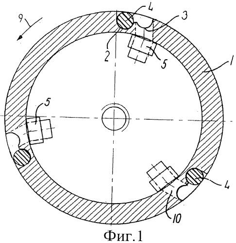 Устройство соединения ведущего вала или шпинделя с ведомой охватывающей ступицей