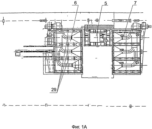 Конвейерная линия для изготовления многослойных железобетонных изделий