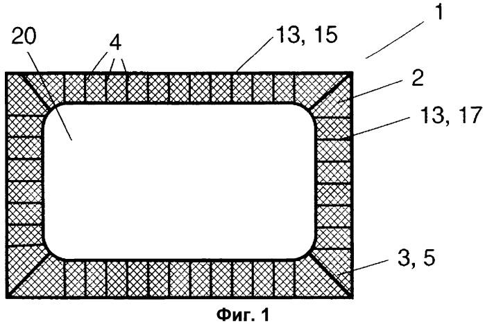 Армирование сечения для слоистых конструкций