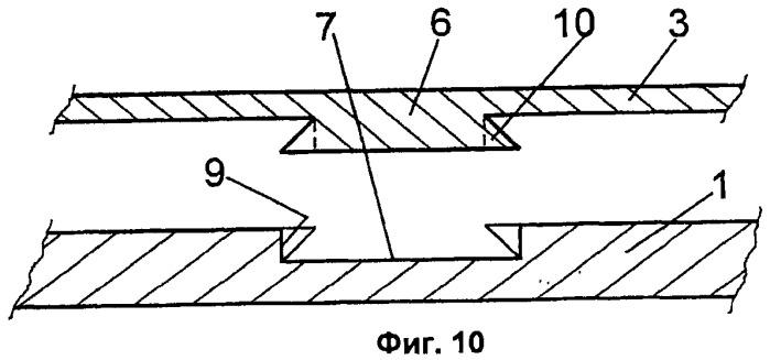 Система соединения между элементами облицовки и конструктивными элементами, которые их поддерживают