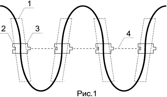 "Способ складывания провода ""зиг-заг"""