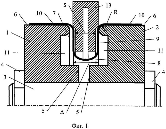 Устройство для термоправки одногофровых сильфонов