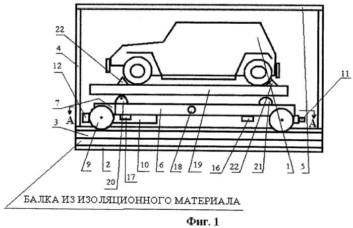 Механизированная автомобильная парковка