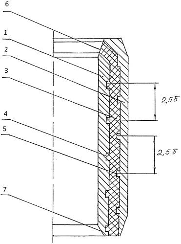 Уплотнительный элемент пакера