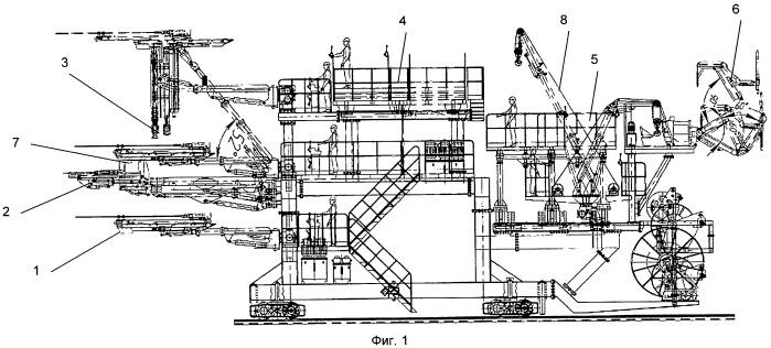 Способ проходки горизонтальной или наклонной подземной горной выработки и проходческий комбайн для осуществления способа