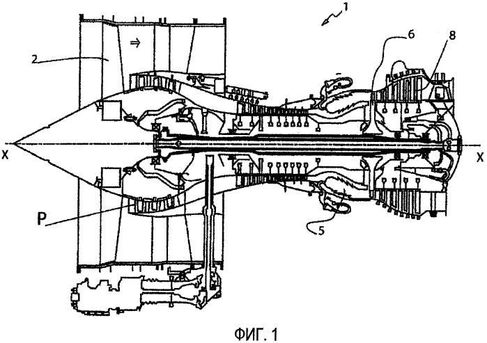 Газотурбинный двигатель с клапаном, соединяющим две полости