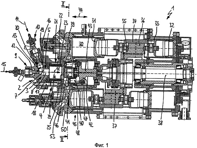 Аксиальный поршневой двигатель и способ управления работой аксиального поршневого двигателя