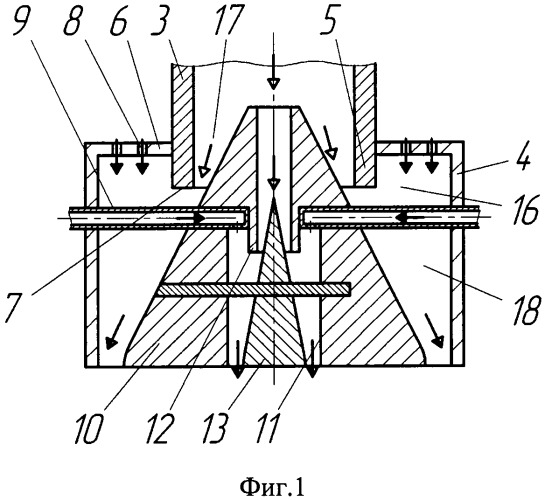 Способ аэрации подаваемого на гидротурбину потока воды и устройство для его осуществления