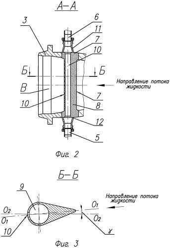 Центробежный насос для перекачки жидкости с абразивными включениями