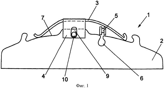 Тормозная накладка дискового тормоза