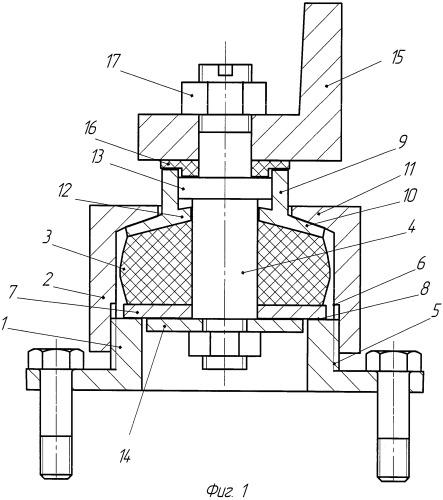 Виброизолятор технологического оборудования