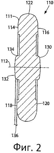 Сжимаемая упругая эластомерная прокладка (варианты)