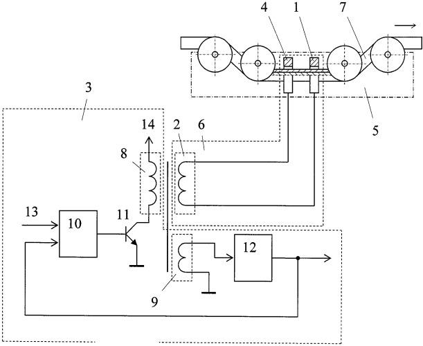 Устройство для определения нарушений целостности изоляции проводов
