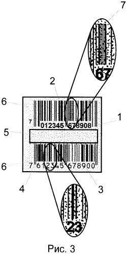 Способ изготовления нанотехнологического штрих-кода