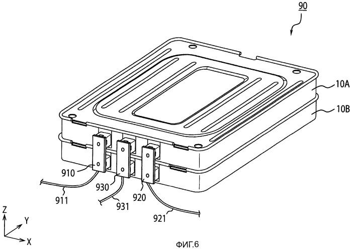 Блок батарей и способ изготовления блока батарей