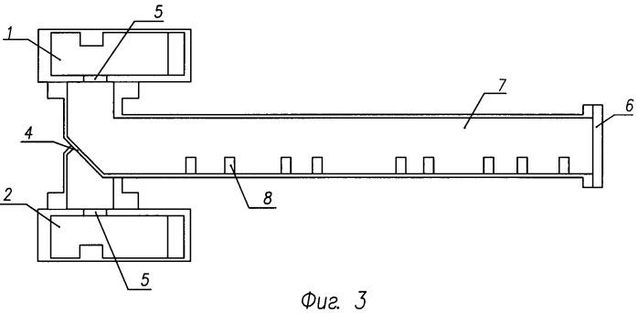 Моноимпульсная антенна с частотным сканированием