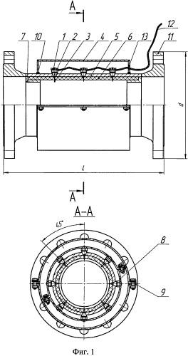 Устройство для снижения скорости коррозии нефтепровода путем удаления электростатического заряда