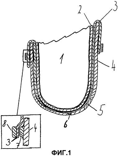 Прокладка для вакуумных стволов и применение прокладки