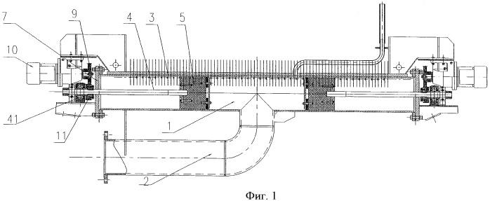 Устройство поршневого типа для ламинарного охлаждения