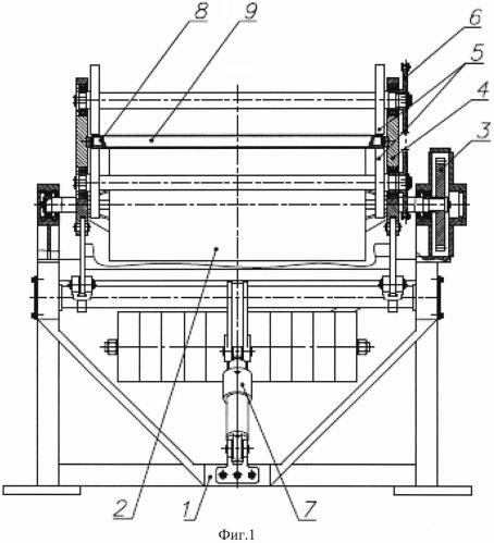 Устройство укладки листа компактированной порошковой смеси в форму для вспенивания и извлечения из нее панели пеноалюминия