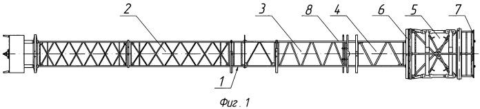 Грузовой макет ракетоносителя