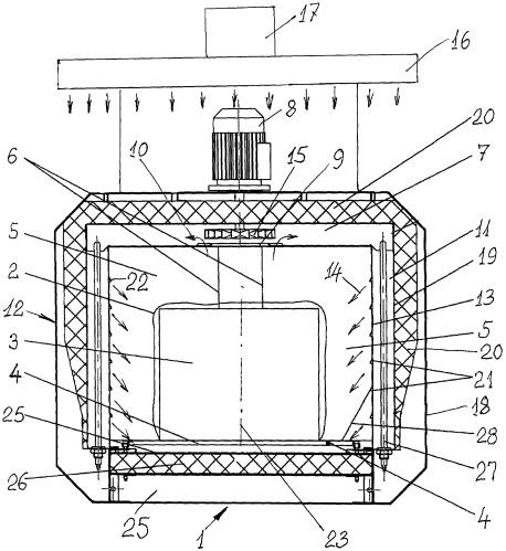 Термотоннель для упаковки продукции в термоусадочную пленку и способ упаковки продукции