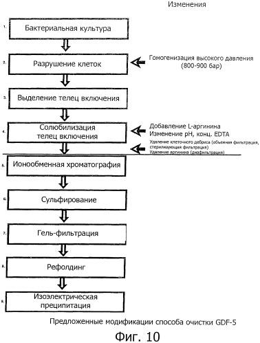 Оптимизированный способ очистки рекомбинантного белка фактора роста