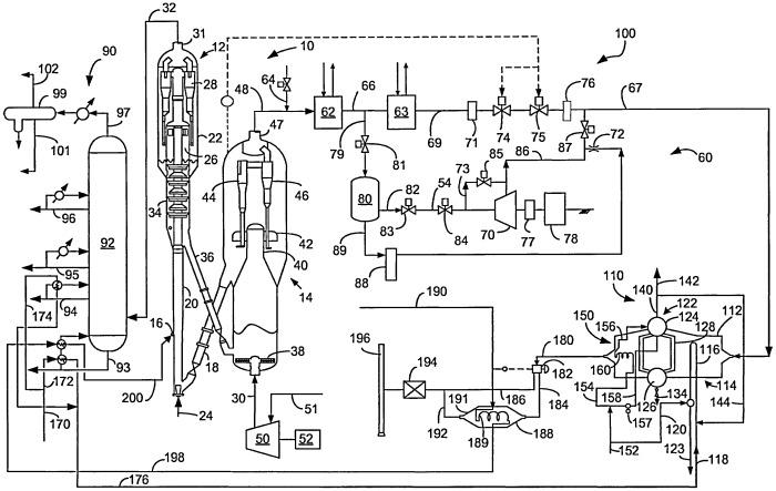 Способ и устройство для предварительного нагрева сырья с помощью охладителя отходящих газов