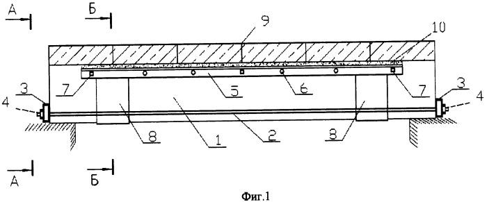 Устройство для усиления железобетонных балок перекрытия