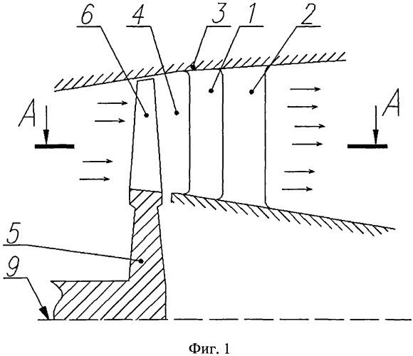 Выходное устройство турбины