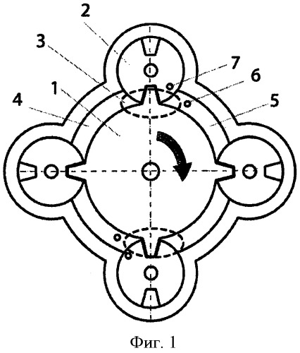 Способ работы роторного двигателя внутреннего сгорания