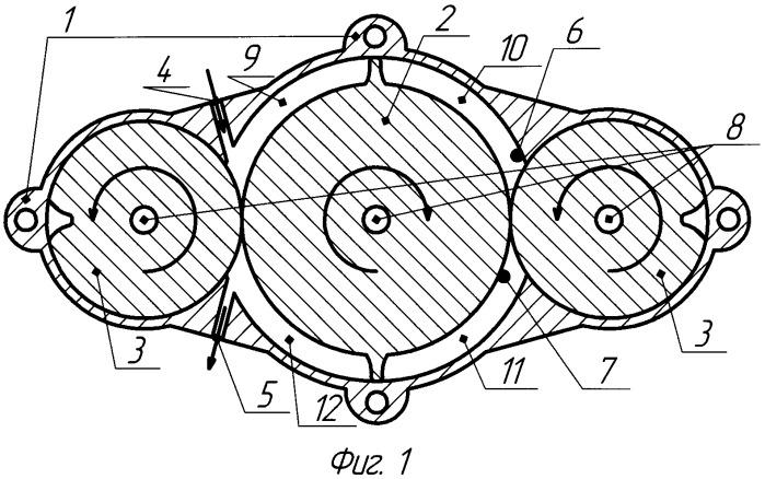 Роторно-лопастный двигатель с вынесенной камерой сгорания и дисковой системой газораспределения (варианты)