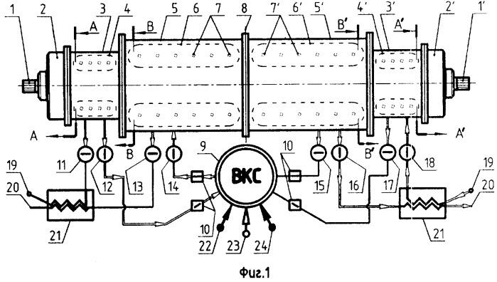 Сильфонный двигатель внешнего сгорания