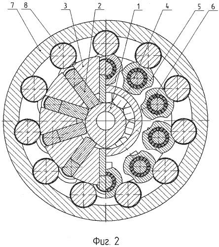 Планетарно-цевочный редуктор