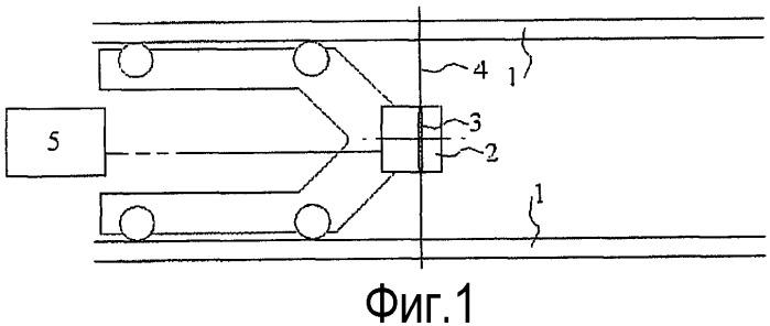 Система для ультразвукового обнаружения дефектов в стенке трубы
