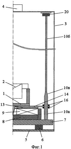 Баллистический гравиметр с индукционно-динамическим приводом для симметричного способа измерений ускорения свободного падения