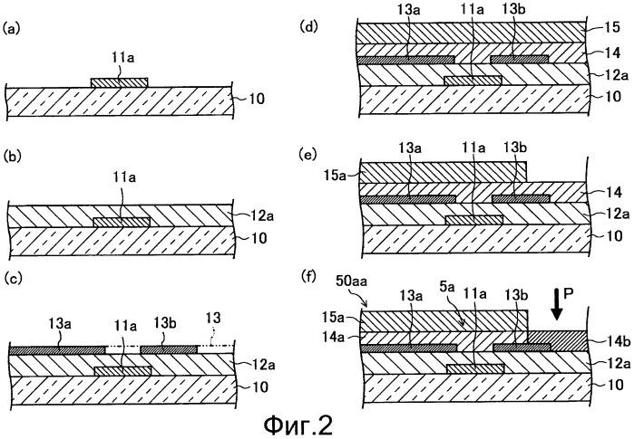 Способ изготовления подложки со структурой тонкопленочных транзисторов