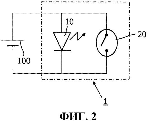 Светоизлучающий модуль и способ тепловой защиты