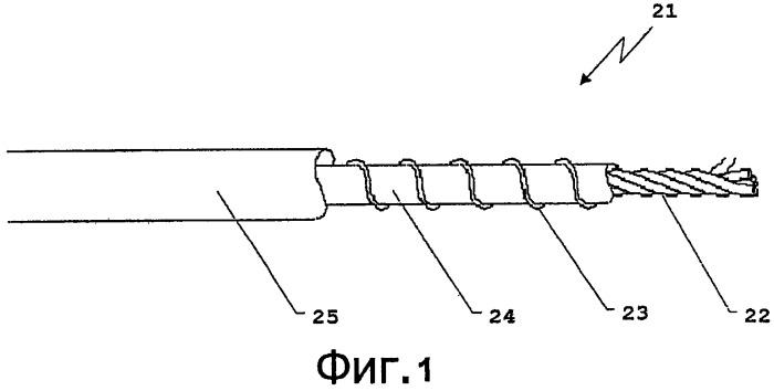 Цепь управления нагревательным проводом и способ управления нагревательным элементом
