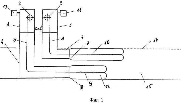 Способ очистки внутренних поверхностей полых конструкций и устройство для его осуществления